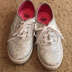 Faded Glory Sparkle Tennis Shoes